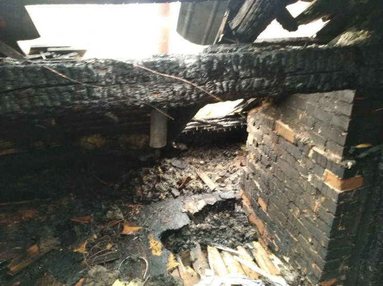 Пожежею в будинку Вікторії Пантьо зайнял…