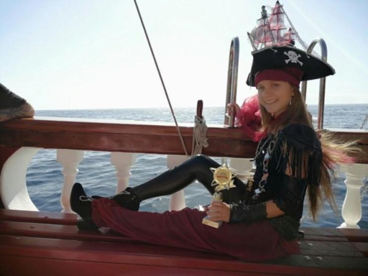 Запорізька школярка представляла Україну…