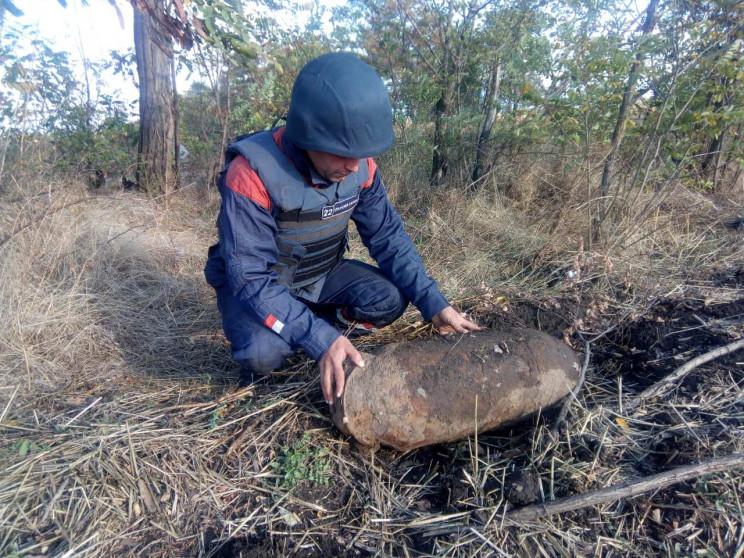 Біля херсонського села знайшли стокілогр…