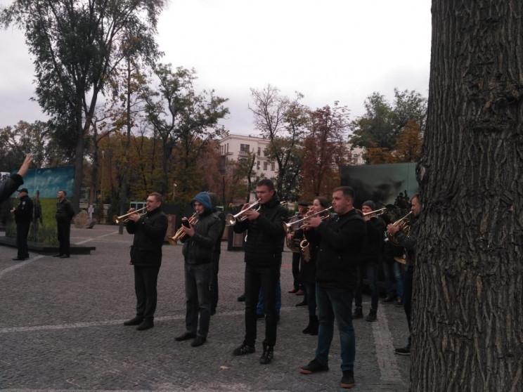 У центрі Дніпра відбувається репетиція м…