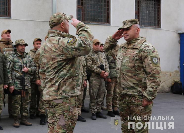 Вінницькі поліцейські повернулися з Донб…