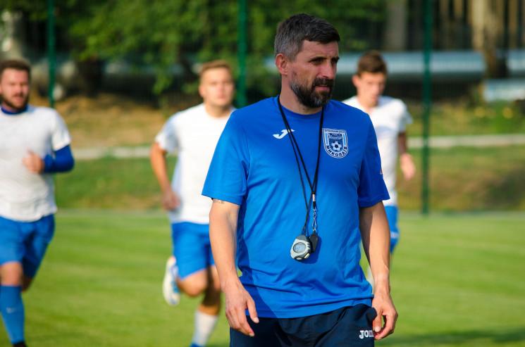 Український футбольний тренер підтримує…