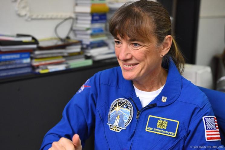 Астронавтка з США розповіла харків'янам…