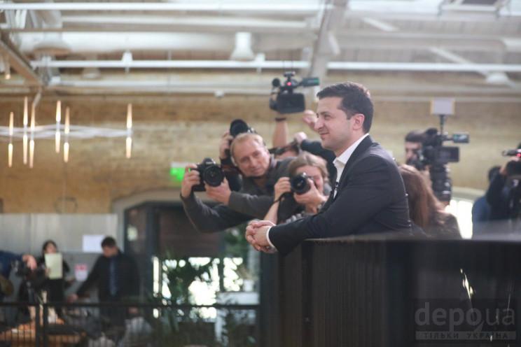 Як Зеленський спілкується з журналістами…