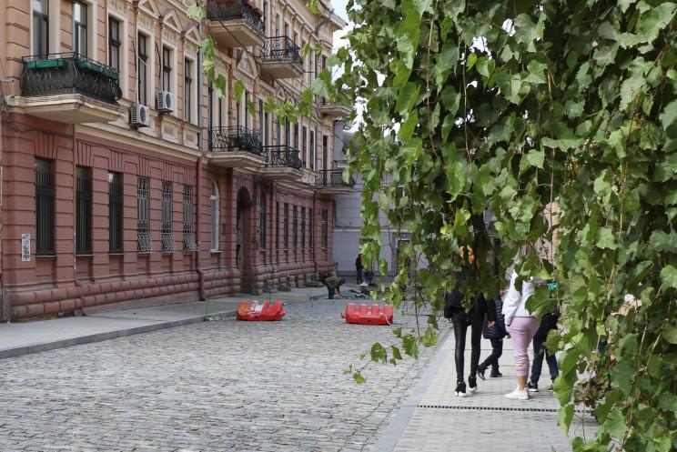 У Воронцовському провулку під час ремонт…