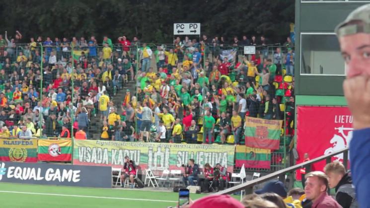 Стало известно, сколько литовских футбол…