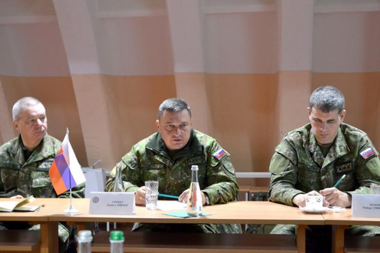 Делегація Збройних сил Словакії приїхала…