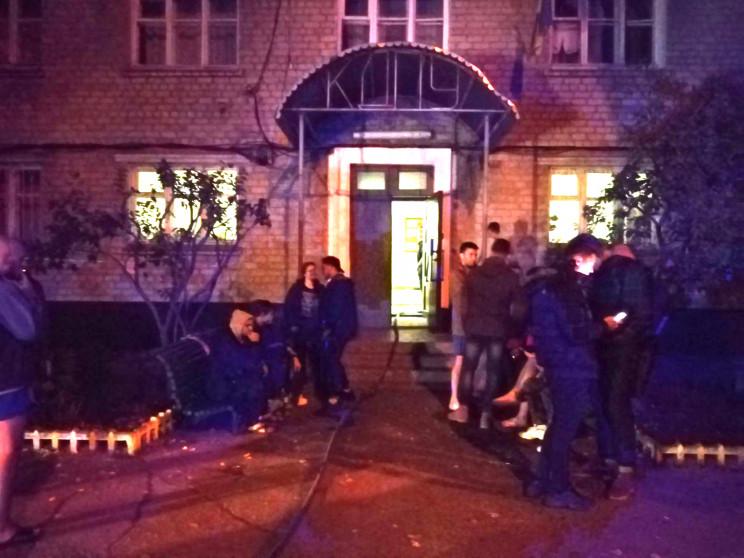 На Полтавщині загорівся гуртожиток Креме…
