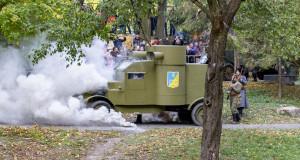 Постріли і вибухи у міському парку: У Ві…
