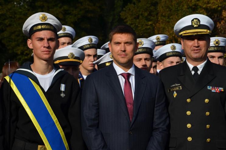 Новий очільник Одеської області святкує…