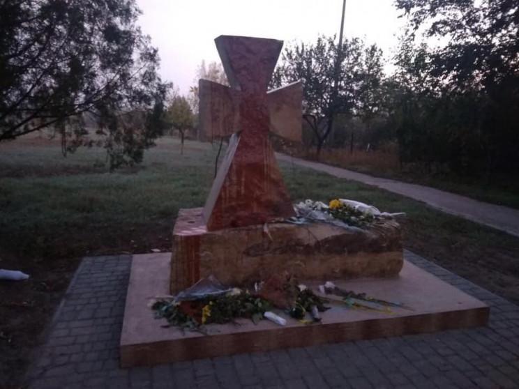 На Одещині вандали спаплюжили пам'ятник,…
