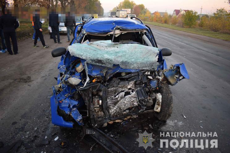 Моторошна аварія: У Гайсині на смерть ро…
