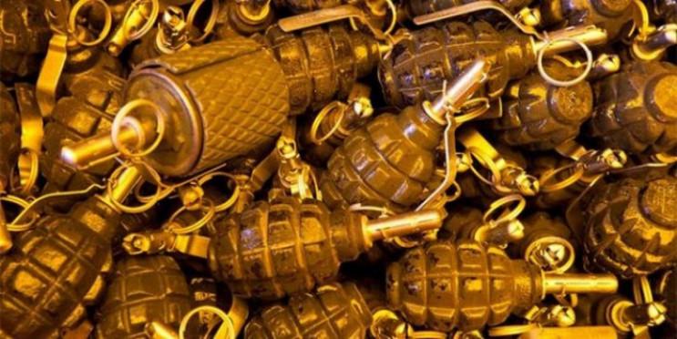 У поліцію принесли 700 гранат…