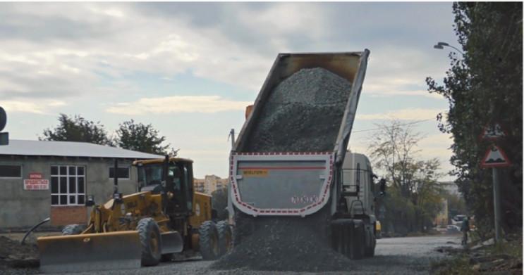 У Кам'янці ремонтують 1,5 км вул.Привокз…