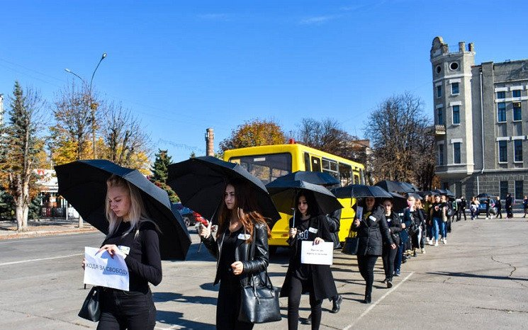 У столиці Західного Донбасу відбувся мар…