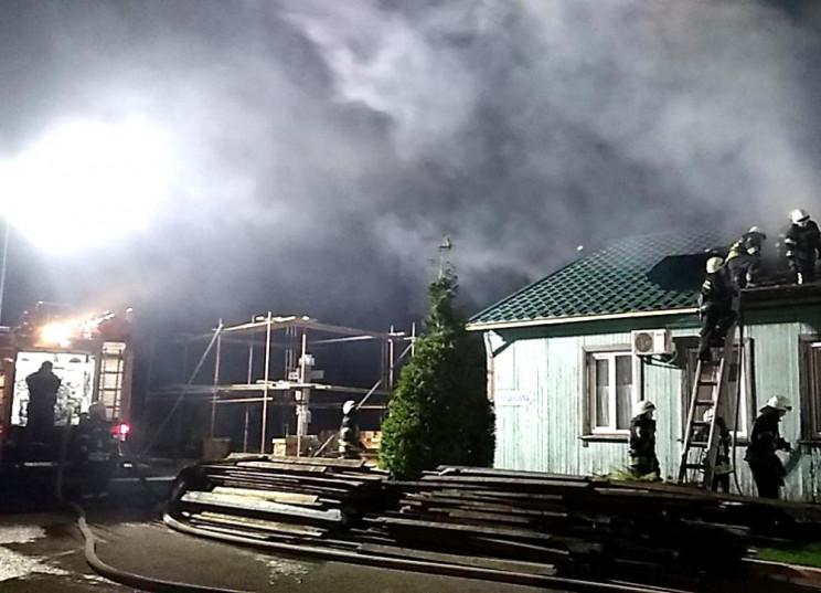 В Одессе горел Иверский мужской монастыр…