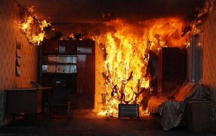 У Сколе згорів будинок разом з власником…