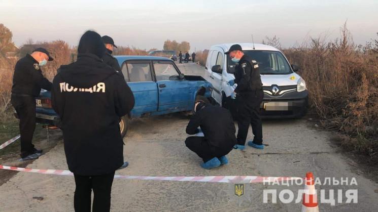 На Киевщине устроили стрельбу после ДТП,…