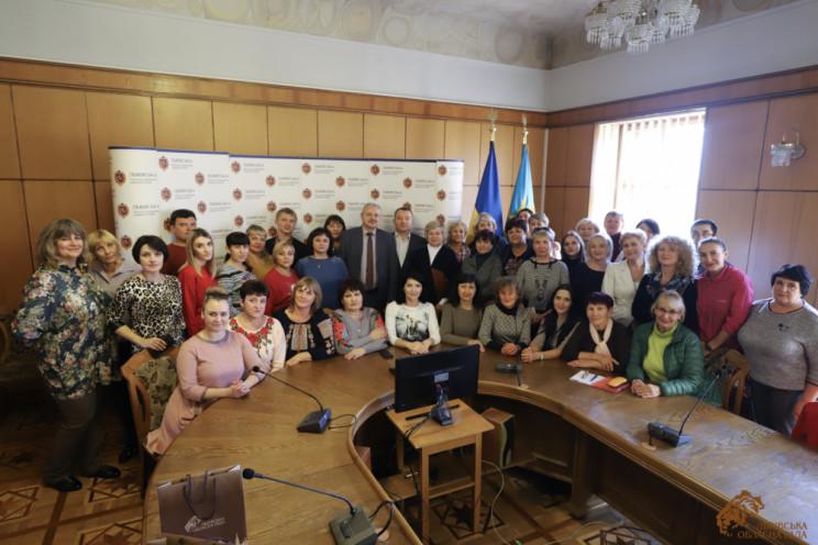 На Львівщину приїхали освітяни з Луганщи…