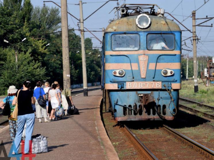 """У """"ДНР"""" скасували шість електричек, які…"""