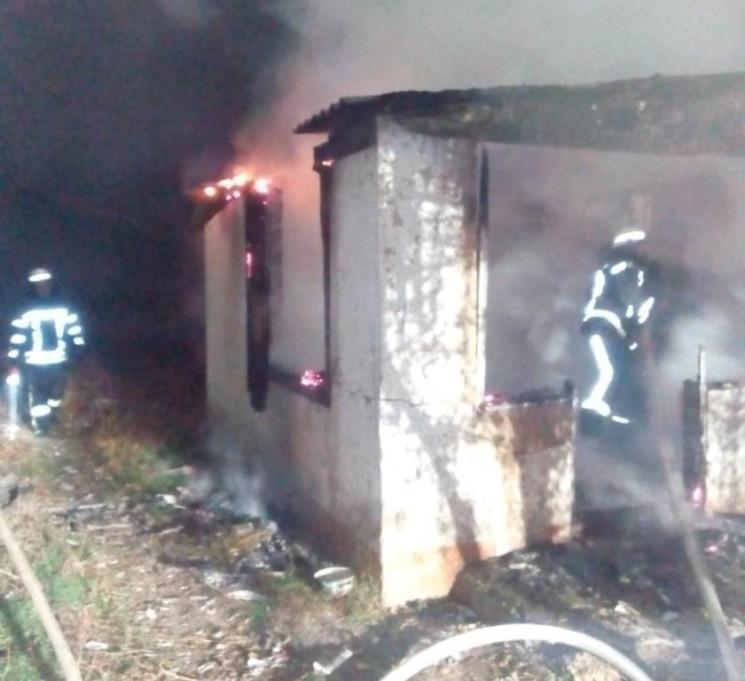 На Херсонщині у нічній пожежі загинуло п…