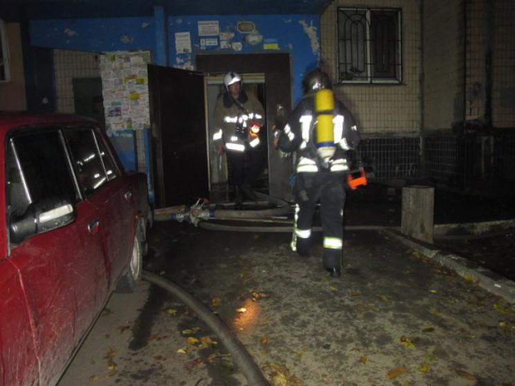 На Героїв оборони Одеси сталася пожежа у…