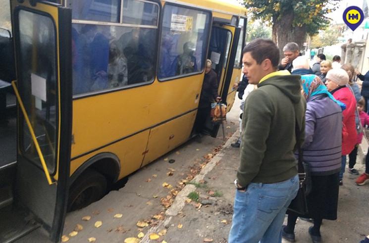 У райцентрі на Одещині маршрутка під час…