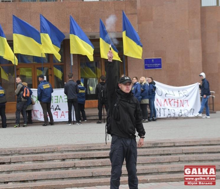 """""""Нет капитуляции!"""": Франковские активист…"""