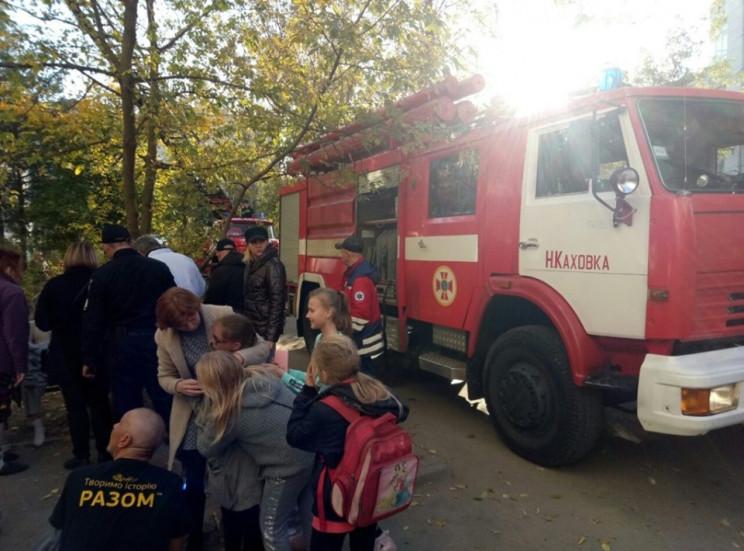 На Херсонщині у пожежі мало не загинули…