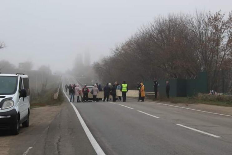 В Кропивницком из-за акции протеста пере…