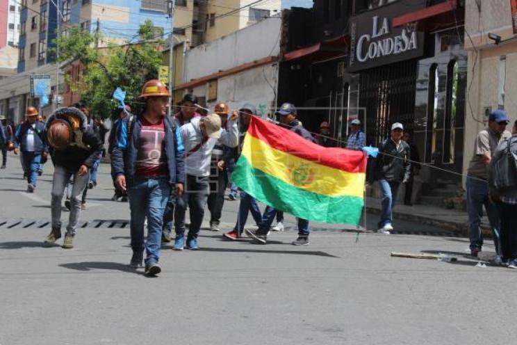 """""""Майдан"""" у Болівії: 30 постраждалих…"""