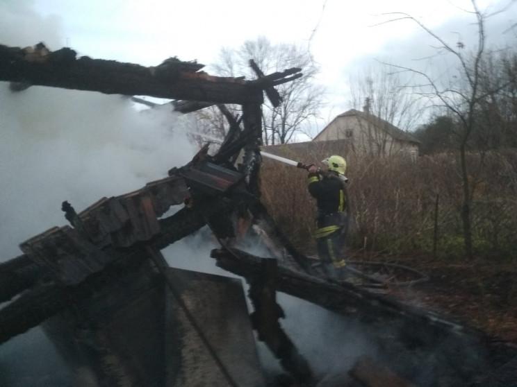 На Городоччині згорів житловий будинок (…