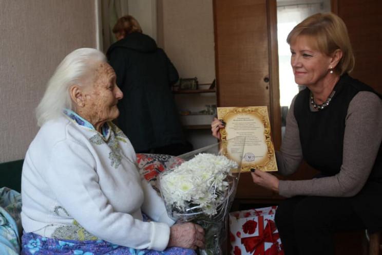 Одеситка відсвяткувала 101-й рік народже…