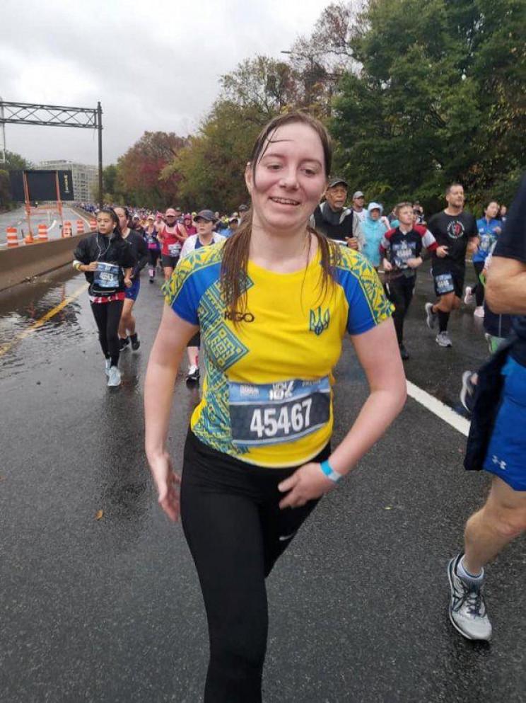 Ветеранка АТО з Вінниці пробігла десять…