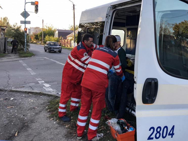 У Бердянську в ДТП постраждали дві дитин…