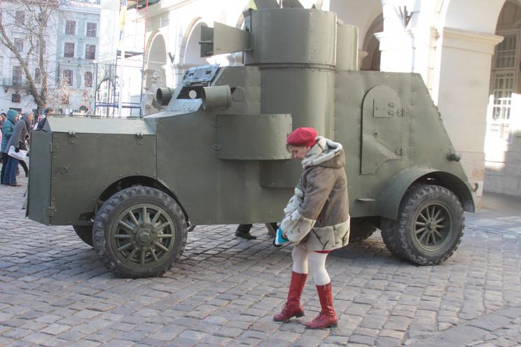 Як у Львові відзначали річницю народної…