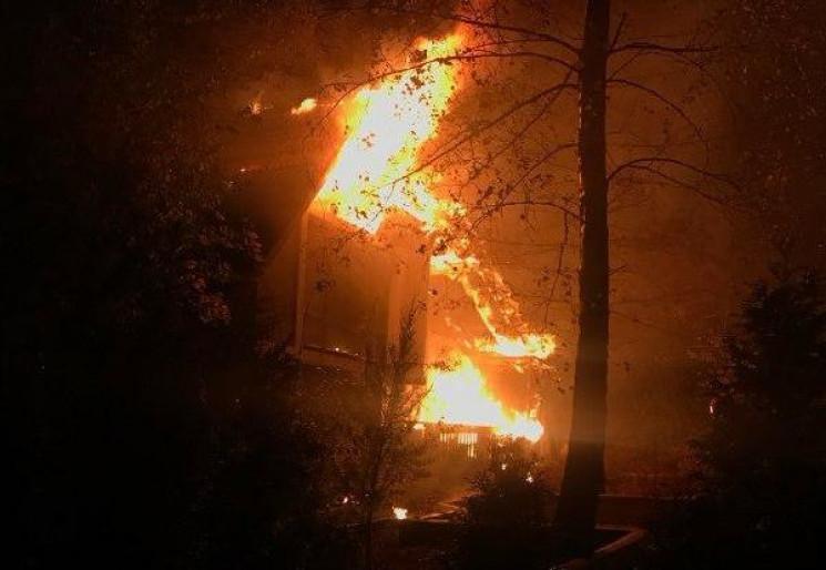 У Рівному спалили ресторан (ФОТО)…