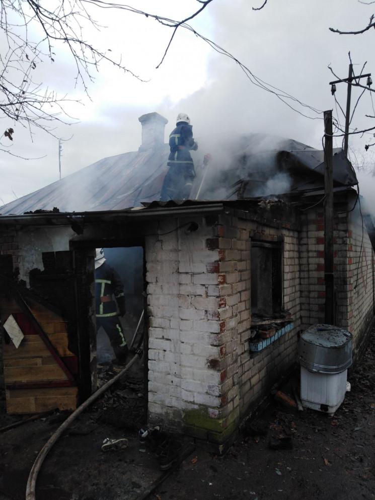 Рятувальники ліквідували пожежу у житлов…