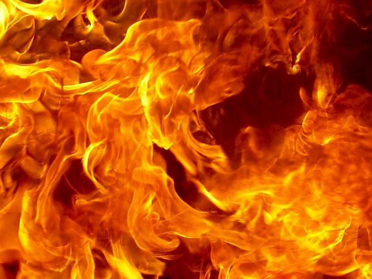 У Сіверському районі знову загорілася лі…