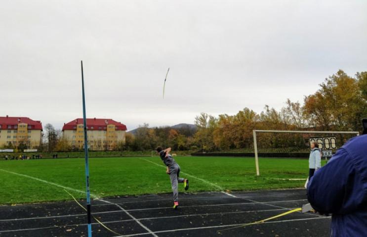 В Мукачеві стартували змагання з атлетич…