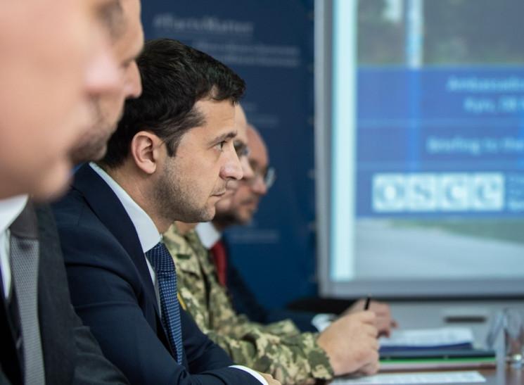 Зеленський відвідав офіс ОБСЄ: Обговорюв…
