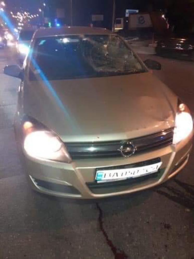 У Кропивницькому поліцейський наїхав на…