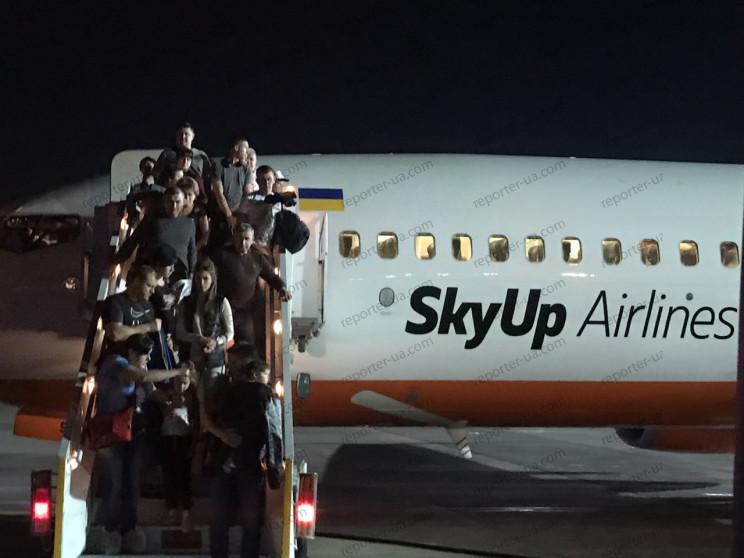 В аеропорту Шарм-Ель-Шейха під час посад…