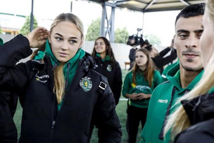 Сексуальна українська спортсменка похизу…