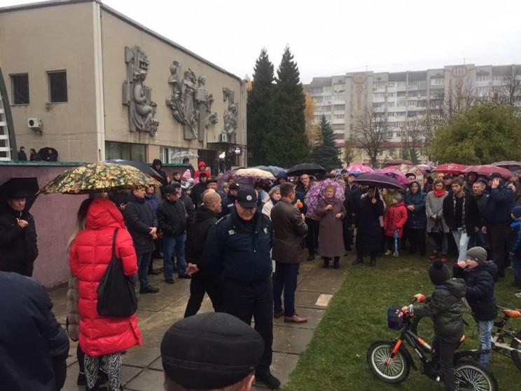 Як мешканці міста на Львівщині вимагали…