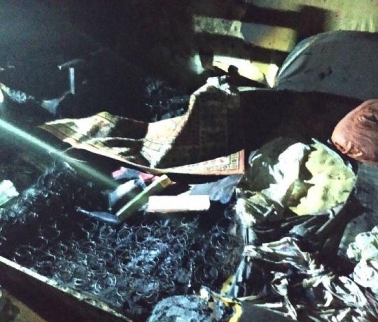 На Замості під час пожежі загинув чолові…