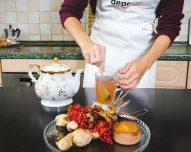 Depo.КУХНЯ: Готовим имбирный чай с калин…