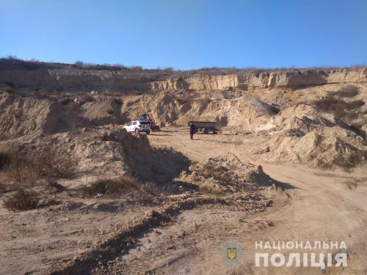 На Одещині викрили нелегальний видобуток…