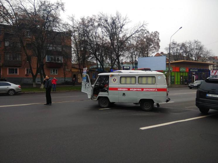 """ДТП у Полтаві: На вулиці Європейській """"ш…"""