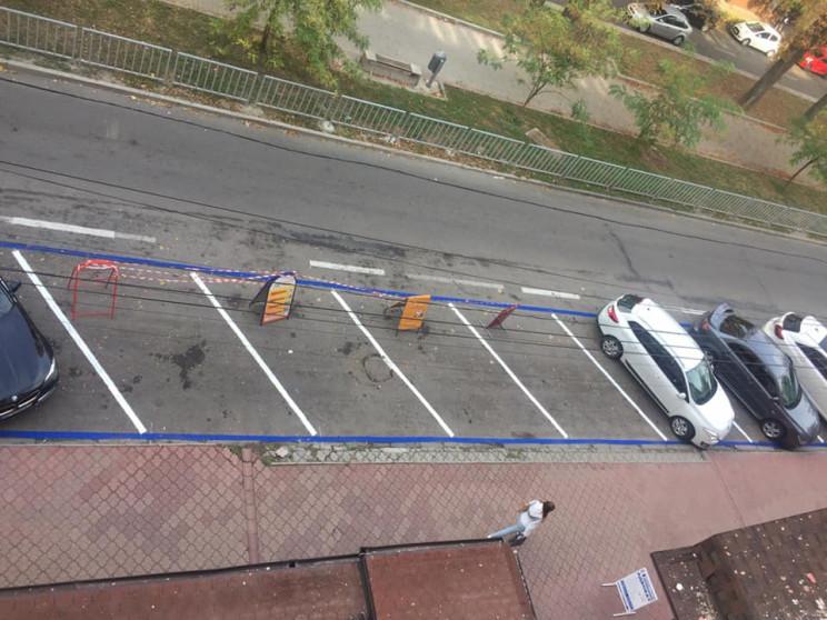 У Дніпрі розмітку для платних парковок м…